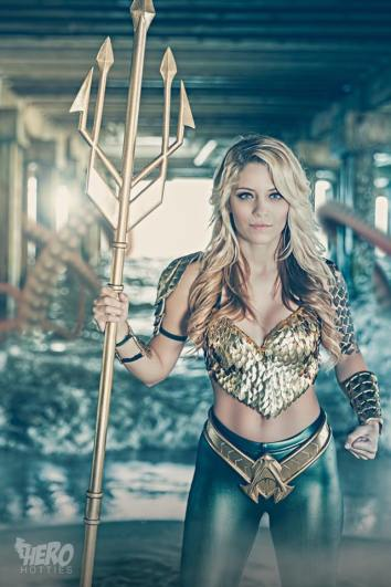 Aquaman cosplay by Hero Hotties