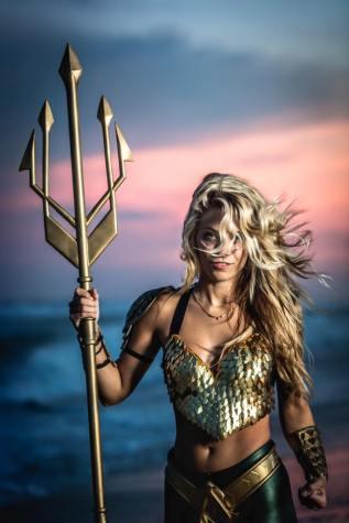 Aqua man cosplay by Christopher Harris